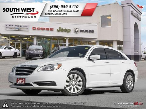 Pre-Owned 2012 Chrysler 200 | LX | Cruise | Bluetooth FWD 4dr Car
