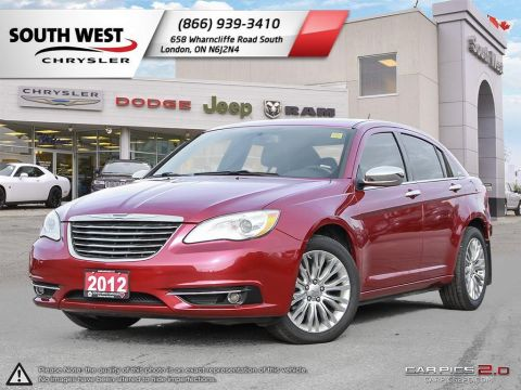 Pre-Owned 2012 Chrysler 200 Bluetooth Connection|Heated Front Seat(s)|Keyless Entry FWD 4dr Car