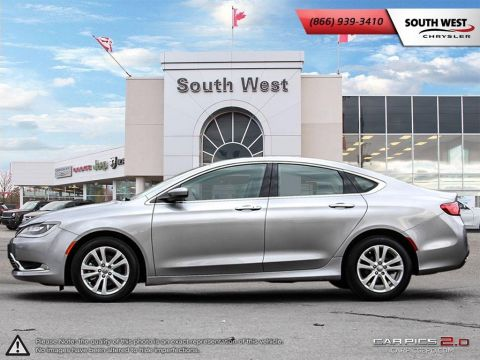 Pre-Owned 2015 Chrysler 200 | Limited | 8.4 Screen | Bluetooth | Heated Seats FWD 4dr Car