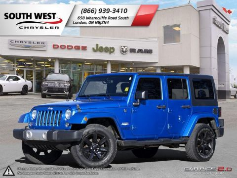 Pre-Owned 2014 Jeep Wrangler Unlimited | Unlimited Sahara | 4X4 | Bluetooth | Cruise 4WD