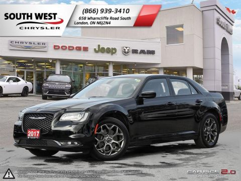 Pre-Owned 2017 Chrysler 300S | AWD | Leather | 8.4 Screen | Bluetooth | 10 Speaker Beats Audio AWD