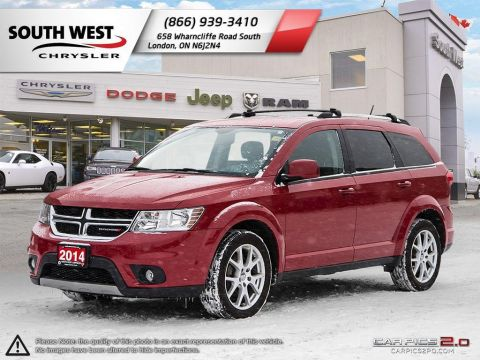 Pre-Owned 2014 Dodge Journey | Limited | 8.4 Screen | Bluetooth | Heated Seats | Sirius Radio FWD Sport Utility