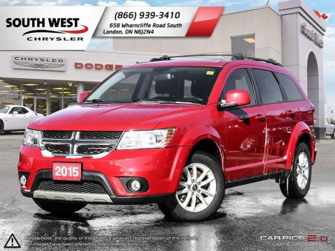Pre-Owned 2015 Dodge Journey | 7 Passenger | Sunroof | Rear DVD | GPS | Backup Camera FWD Sport Utility