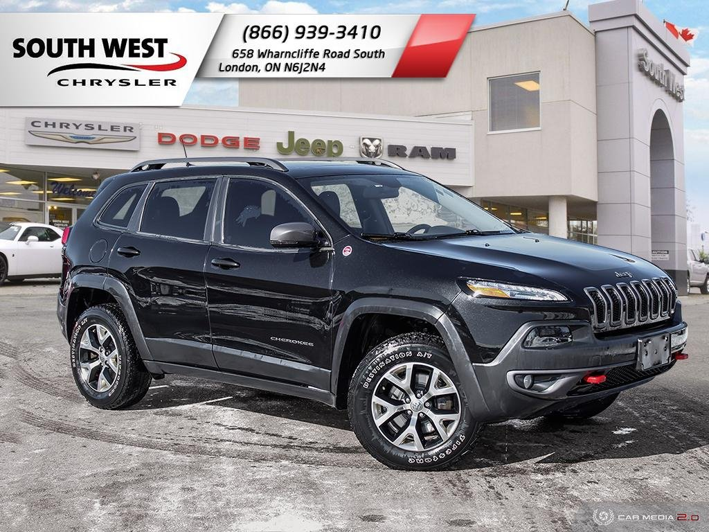 Pre-Owned 2016 Jeep Cherokee | Trailhawk | Back-Up Camera | Cruise | Heated Front Seats