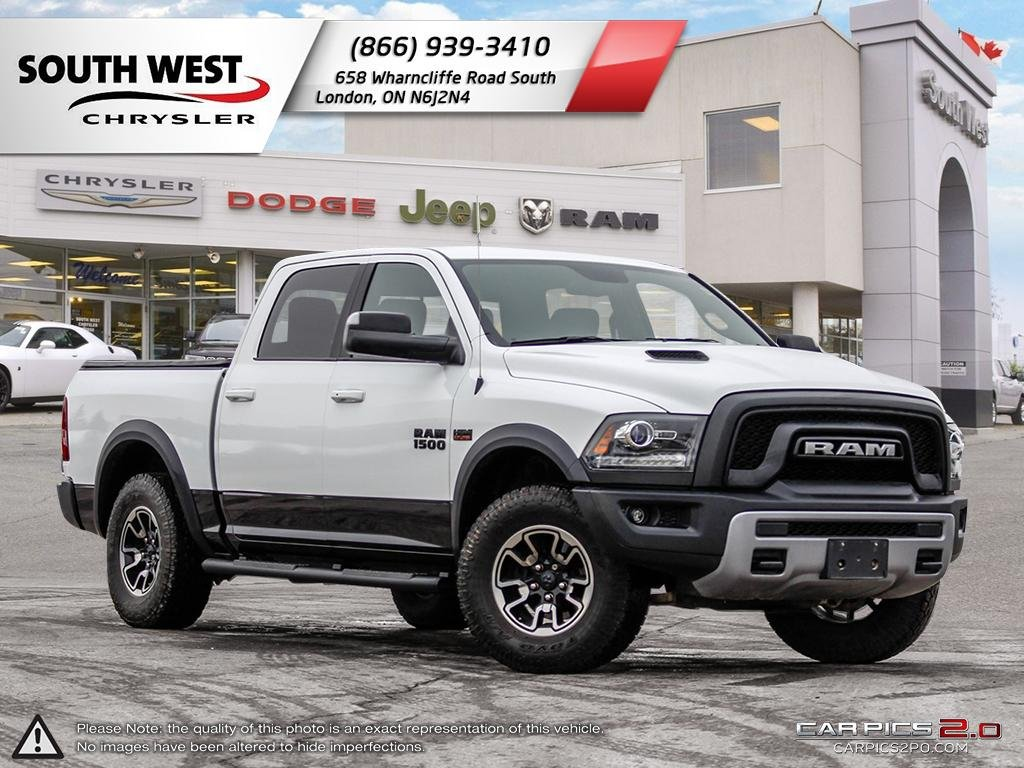 Pre-Owned 2016 Ram 1500 | Rebel | Sunroof | GPS | Air Ride