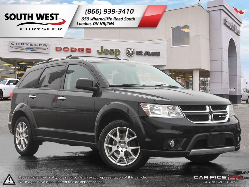 Pre Owned 2015 Dodge Journey R T AWD Leather