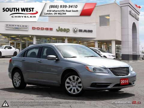 Pre-Owned 2014 Chrysler 200 | LX | Bluetooth | Cruise FWD 4dr Car