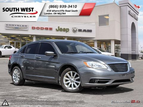 Pre-Owned 2012 Chrysler 200 | Touring | Cruise | Bluetooth FWD 4dr Car