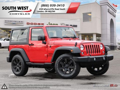 Pre-Owned 2016 Jeep Wrangler | Sport | Cruise | Step Tubes 4WD