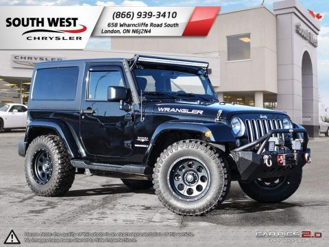Pre-Owned 2016 Jeep Wrangler | Sahara | Light Bar | Aft Bumper w/ Winch | Aft Wheels