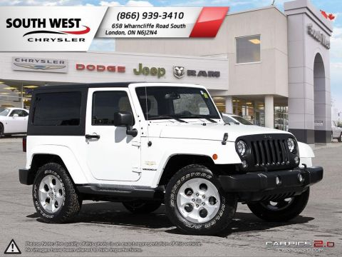Pre-Owned 2015 Jeep Wrangler | Sahara | GPS | Alpine Stereo | Remote Start | Bluetooth With Navigation & 4WD