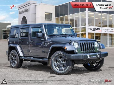 Pre-Owned 2017 Jeep Wrangler Unlimited | Sahara | GPS | A/C | Bluetooth With Navigation & 4WD