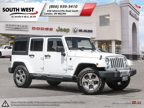 Pre-Owned 2017 Jeep Wrangler Unlimited | Sahara | GPS | Remote Start | Cruise Control With Navigation & 4WD