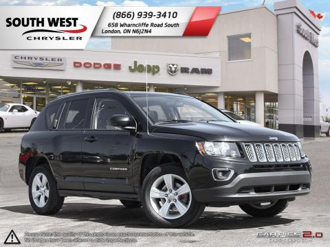 Pre-Owned 2016 Jeep Compass | High Altitude | Leather | Moonroof | 4x4 4WD
