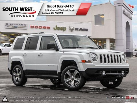 Pre-Owned 2017 Jeep Patriot | High Altitude | Leather | Sunroof 4WD