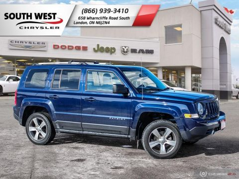 Pre-Owned 2016 Jeep Patriot | High Altitude | Leather | Moonroof | Heated Seats