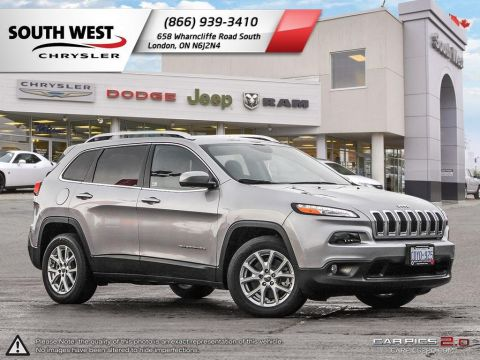 Pre-Owned 2017 Jeep Cherokee North | 8.4 Screen | Parksense/Park Assist | Blindspot & Rear-Crosspath