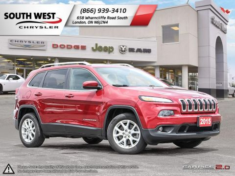 Pre-Owned 2015 Jeep Cherokee | North | Cruise | Bluetooth FWD Sport Utility