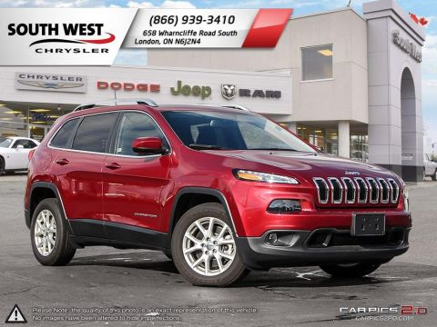 New 2017 Jeep Cherokee North - DEMO