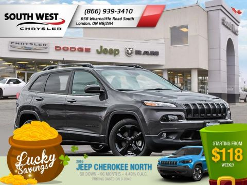 New 2017 Jeep Cherokee High Altitude - DEMO