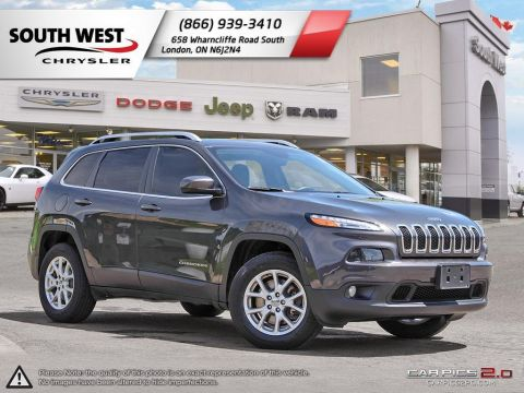 Pre-Owned 2016 Jeep Cherokee | North | Dual Pane Sunroof | Dual Zone Climate | Proximity Key 4WD