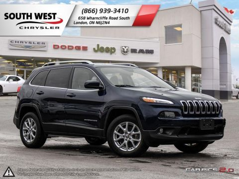Pre-Owned 2016 Jeep Cherokee | North | Sunroof | Heated Seats & Wheel | Remote Start 4WD