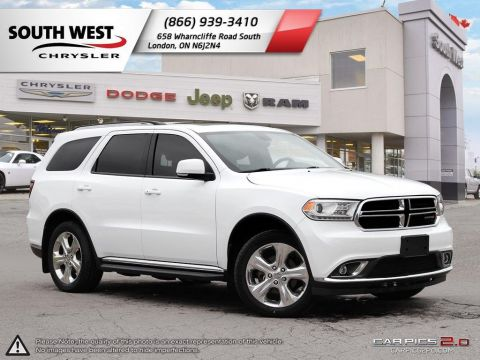 Pre-Owned 2015 Dodge Durango | Limited | Leather | Sunroof | 8.4 Screen | Remote Start AWD