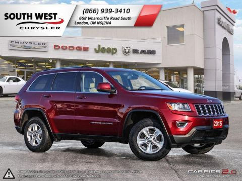 Pre-Owned 2015 Jeep Grand Cherokee | Laredo | Bluetooth | Cruise 4WD