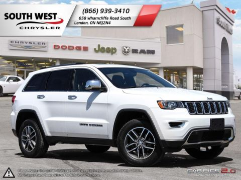 Pre-Owned 2018 Jeep Grand Cherokee | Limited | Leather | Sunroof | Heated Front & Rear Seats 4WD