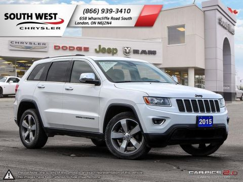 Pre-Owned 2015 Jeep Grand Cherokee | Limited | Leather | Sunroof | 8.4 Screen 4WD