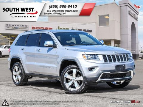 Pre-Owned 2015 Jeep Grand Cherokee | Limited | Sunroof | Back-Up Camera | 8.4Screen | Leather 4WD