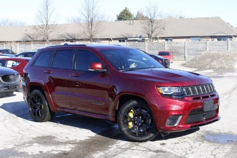 Pre-Owned 2018 Jeep Grand Cherokee TRACKHAWK 707HP! | Supercharged | Navigation | Leather