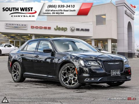 Pre-Owned 2016 Chrysler 300 | S | Leather | Dual Pane Moonroof | GPS With Navigation