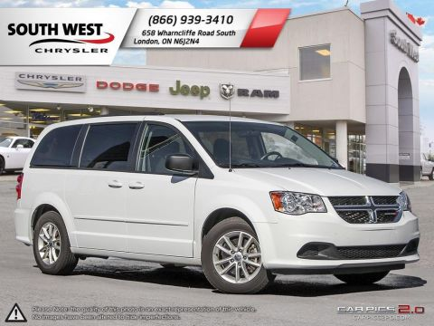 Pre-Owned 2017 Dodge Grand Caravan | SXT | GPS | Power Sliding Doors & Tailgate