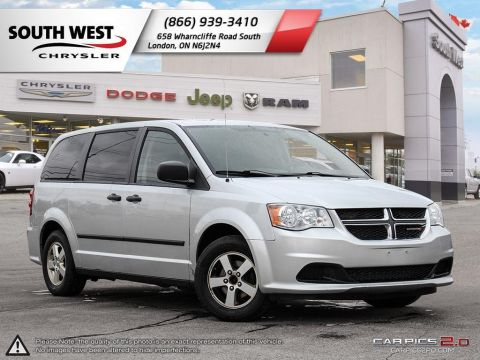 Pre-Owned 2012 Dodge Grand Caravan | SE | StowNgo | Dual Climate | Aluminum Wheels FWD Mini-van, Passenger