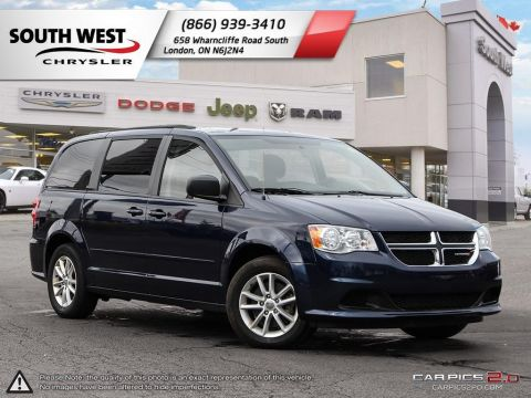 Pre-Owned 2017 Dodge Grand Caravan | SXT | GPS | Power Sliding Doors & Tailgate With Navigation
