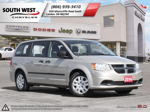 Pre-Owned 2014 Dodge Grand Caravan | SE | Dual Climate | Cruise FWD Mini-van, Passenger