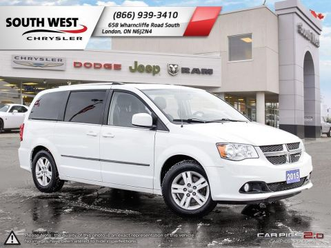 Pre-Owned 2015 Dodge Grand Caravan Crew Plus | USB Port | Bluetooth | Cruise | Back-Up Camera