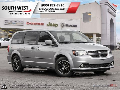 Pre-Owned 2017 Dodge Grand Caravan | GT | Heated Seats & Wheel | Power Liftgate FWD Mini-van, Passenger