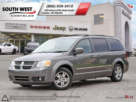 Pre-Owned 2010 Dodge Grand Caravan | SE | Cruise | Bluetooth | StowNGo FWD Mini-van, Passenger