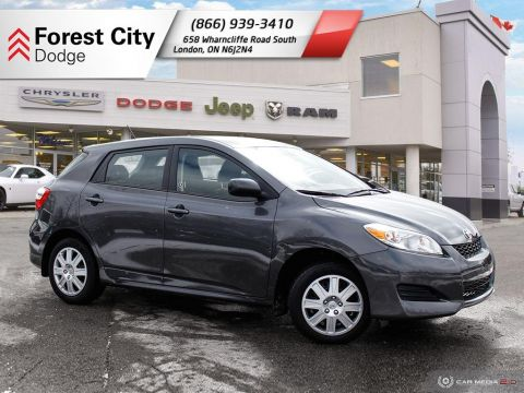 Pre-Owned 2014 Toyota Matrix | Traction Control | Super low Kms