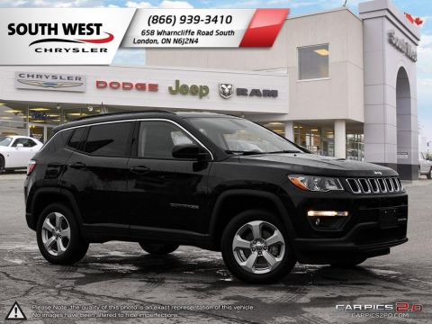 Pre-Owned 2017 Jeep Compass | North | Cruise | Bluetooth | Backup Camera 4WD