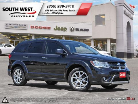 Pre-Owned 2013 Dodge Journey 7 Passenger | R/T | Sunroof | DVD | GPS With Navigation & AWD